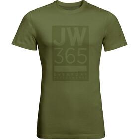 Jack Wolfskin 365 Kortærmet T-shirt Herrer oliven